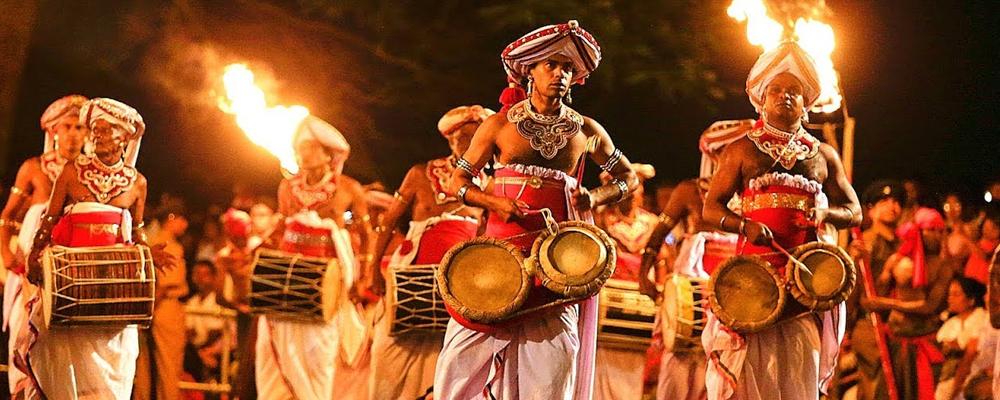The Esala Perahera in Kandy – July