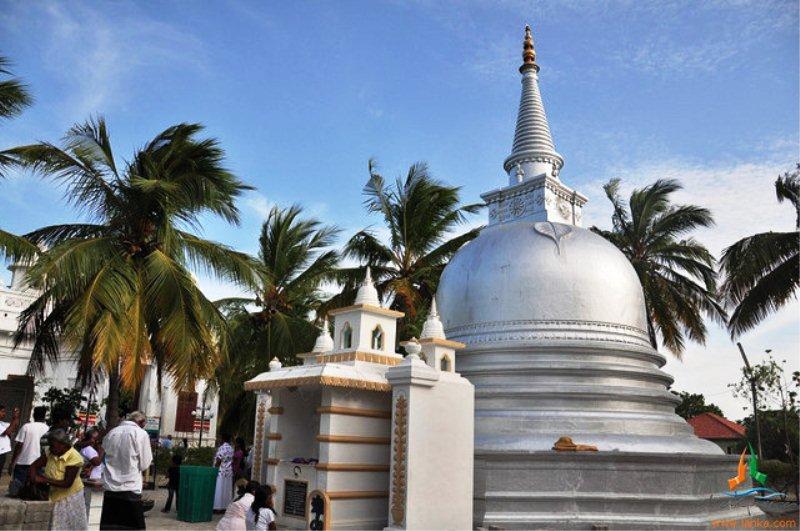 Buddhist temple in Nagadipa